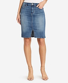 Skinny Girl Denim Pencil Skirt