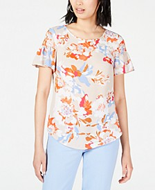 Floral-Printed Blouse, Created for Macy's