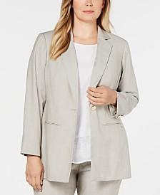 Calvin Klein Plus Size Blazer
