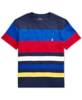 14a2fa991702 ... Free ship at $48. (1). more like this · Polo Ralph Lauren Big Boys  Striped Cotton Jersey T-Shirt