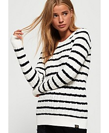 Croyde Bay Cable Knit Jumper