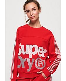Athletico Crop Crew Sweatshirt