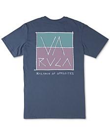 RVCA Men's Split Scrawl Graphic T-Shirt