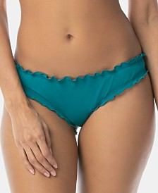 SUNDAZED Mermaid Ruffled Cheeky Hipster Bikini Bottoms, Created for Macy's