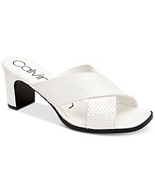 Calvin Klein Women's Dylan Dress Sandals