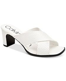 Calvin Klein Women's Dylan Dress Sandals
