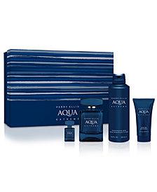 Perry Ellis Men's 4-Pc. Aqua Extreme Eau de Toilette Gift Set
