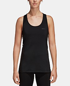 adidas Design 2 Move 3-Stripe Racerback Tank Top