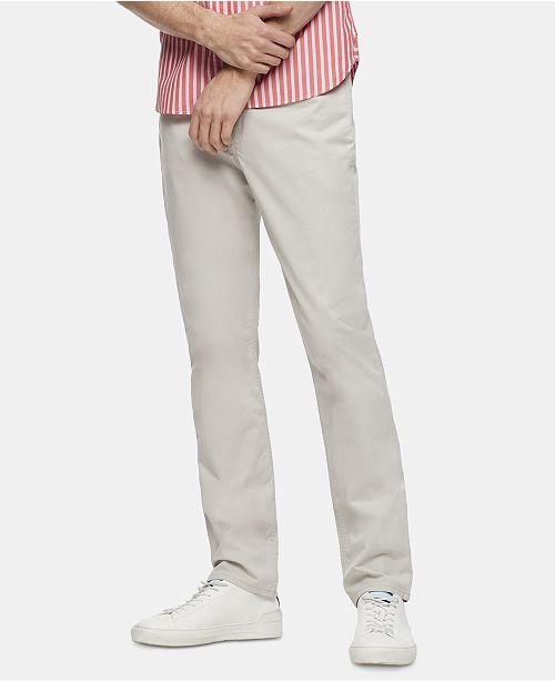 Calvin Klein Men's Skinny-Fit 5 Pocket Pants