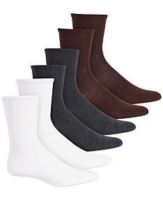 3e4dfc14d82f9 Hue Women's 6 Pack Crew Socks