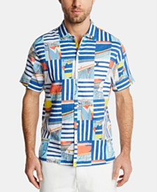 Nautica Men's Classic Fit Graphic Shirt