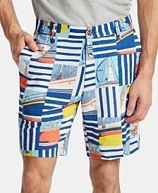 "Nautica Men's 8.5"" Graphic Cargo Shorts"