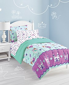 Magical Princess 5-Pc. Twin Bed-in-a-Bag