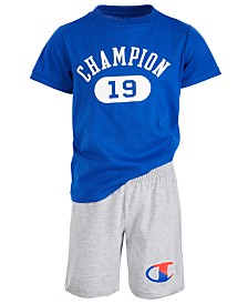 Champion Toddler Boys 2-Pc. Logo T-Shirt & Shorts Set