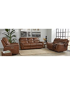 Hadsden Leather Sofa Collection