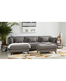 Kirill Fabric Sectional Sofa Collection