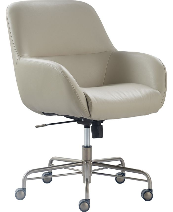 Tommy Hilfiger - Forester Leather Office Chair, Quick Ship