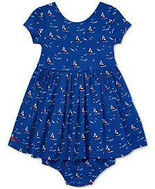 Polo Ralph Lauren Baby Girls Graphic Cotton Dress