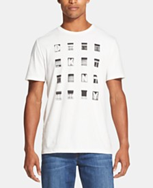 DKNY Men's Window Logo Graphic T-Shirt