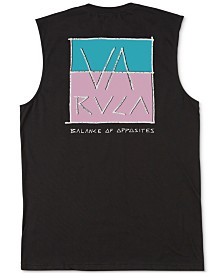 RVCA Men's Split Scrawl Graphic Tank Top