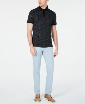 Men's Printed Polo Shirt