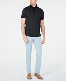 Calvin Klein Dot Polo & Skinny-Fit Pants