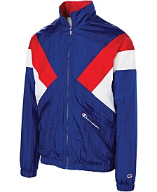 Champion Men's C-Life Nylon Colorblocked Warm-Up Jacket