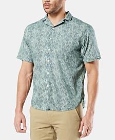 Dockers Men's Alpha Icon Camp Collar Shirt