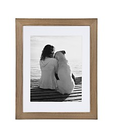 DesignOvation Museum Wood Picture Frame, Set of 2