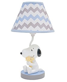 My Little Snoopy™ with Woodstock Nursery Lamp with Shade and Bulb