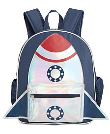 FAB Little & Big Boys Spaceship Backpack