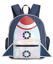 FAB Little & Big Boys Spaceship Backpack