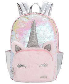 FAB Little & Big Girls Unicorn Reversible Sequin Backpack