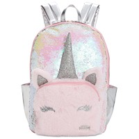 FAB Little & Big Girls Unicorn Sequin Backpack