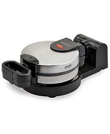 Toastmaster Low Profile Stainless Steel Flip Waffle Maker