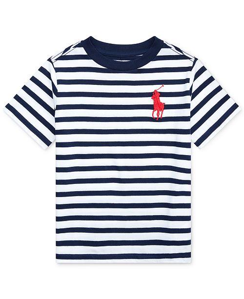 Polo Ralph Lauren Little Boys Striped Cotton T-Shirt