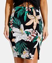 3869871d5 GUESS Kamala Printed High-Waist Skirt