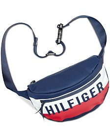 Tommy Hilfiger Keys Nylon Convertible Belt Bag