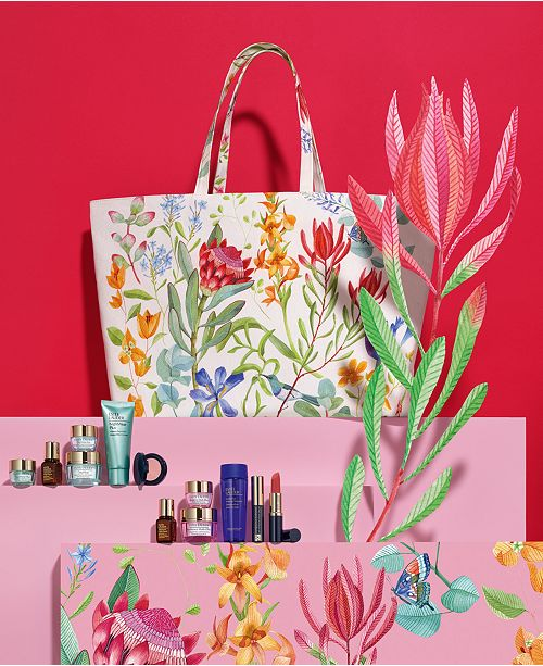 Estee Lauder Choose your free 7-Piece Gift with any $45 Estee Lauder Purchase. Up to a $155 Value!