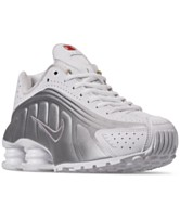 the best attitude 2fdfd e322c Nike Women s Shox R4 Casual Sneakers from Finish Line