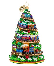 Terrific Train Track Tree