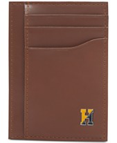 2d1afac8 Tommy Hilfiger Men's Barnaby Front-Pocket RFID Leather Wallet