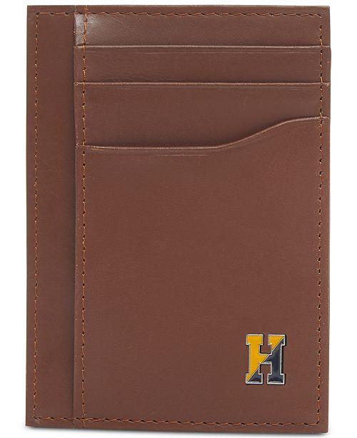 Tommy Hilfiger Men's Barnaby Front-Pocket RFID Leather Wallet