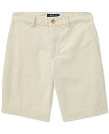 Polo Ralph Lauren Big Boys Straight Fit Chino Shorts