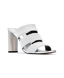 Cali Scrunchie Dress Sandals