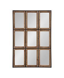 Norgard Windowpane Wall Mirror