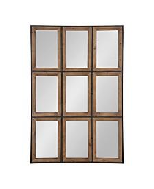 Kate and Laurel Norgard Windowpane Wall Mirror