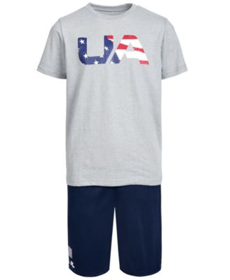 Big Boys Americana Logo Shorts