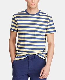 Polo Ralph Lauren Men's Classic-Fit Striped Pocket T-Shirt