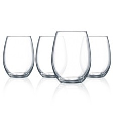 Luminarc Cachet Stemless Wine Glass - Set of 4